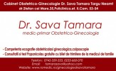 Cabinet obstetrica- ginecologie Dr.TAMARA SAVA