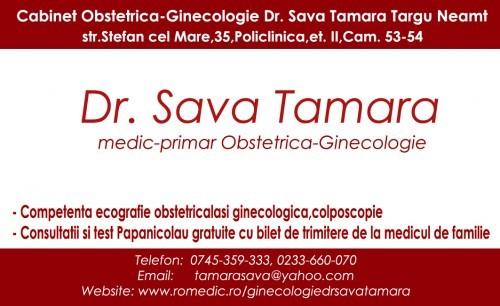 Cabinet Obstetrica - Ginecologie Dr. Tamara Sava - Targu Neamt